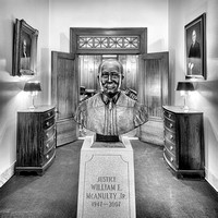 Justice McAnulty sculpture
