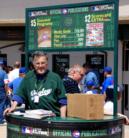 Vendor outside of Wrigley Field