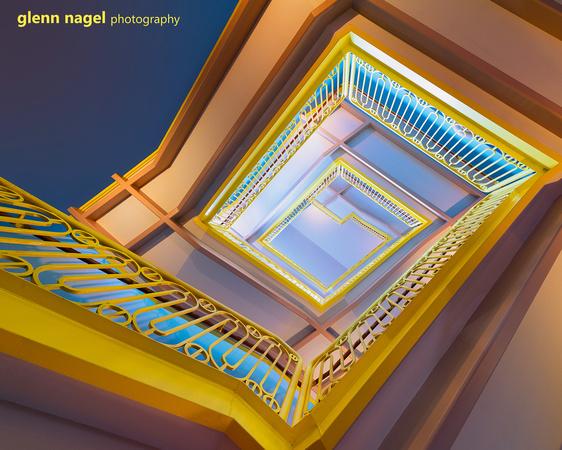 Grainger staircase