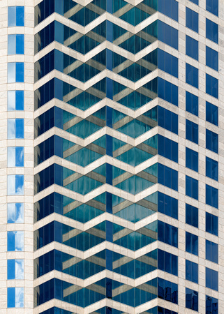 Tampa architectural abstract