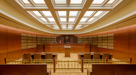 Library courtroom