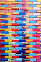 Painted bricks