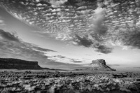 Chaco Canyon in B&W