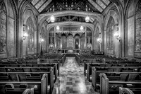 First United Methodist Church (B&W version)
