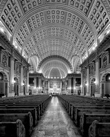 Our Lady of Sorrows Basilica (B&W version)