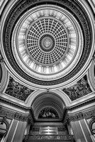 Oklahoma State Capitol Building (B&W version)