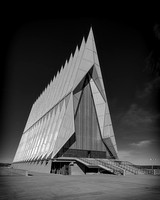 Cadet Chapel (B&W version)
