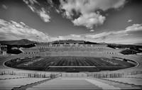 Falcon Stadium (B&W version)