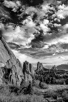 Garden of the Gods (B&W version)