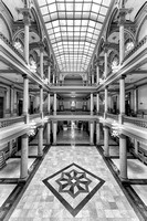 Indiana State Capitol (B&W version)