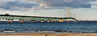 Mackinac Bridge panoramic