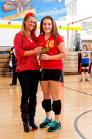 8th grade girls' volleyball