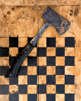 Checkerboard axe