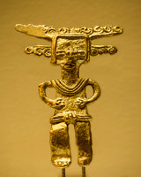 Ancient gold figurine