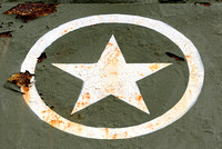 Rusty U.S. Army logo