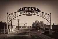 Fresno Archway Sign