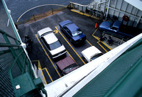 Autos on ferry