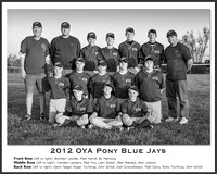 OYA Pony Blue Jays (B&W)