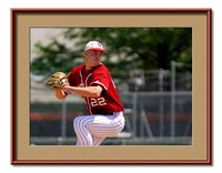 Eric Arnett pitches for the Indiana Hoosiers
