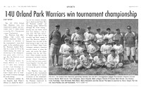Orland Park Prairie article