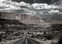Road into Capitol Reef