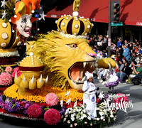 The Magic of Mardi Gras float