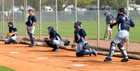 Catchers at Spring Training