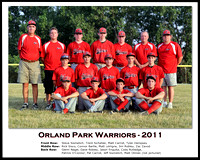 14U Orland Park Warriors (8x10)