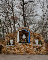 """Our Lady of the Forest"" grotto"