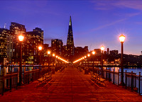 Transamerica Pyramid from Pier 7