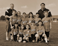 8U Lightning Team 8x10 sepia version