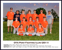 OYA Pony Illini team photo