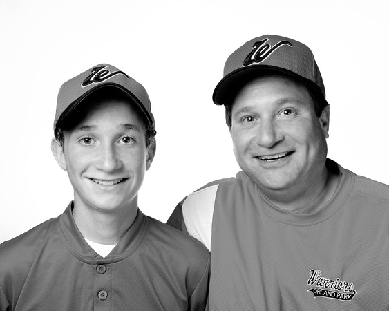 Ryan & Rich Tannebaum (B&W version)