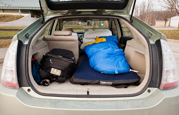 Glenn Nagel Photography   Prius Camping