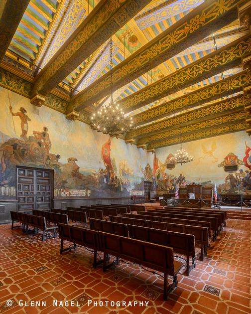 Santa barbara courthouse fm forums for Mural room santa barbara
