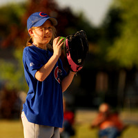Allie prepares to pitch in playoffs