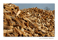 Mountains of firewood