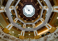 World's largest ceiling clock