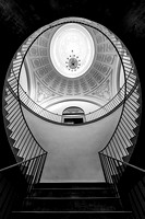 Staircase under cupola