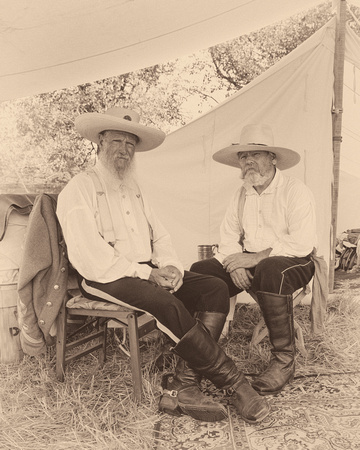 Glenn nagel photography people confederate camp for 1085 table rock road gettysburg pa