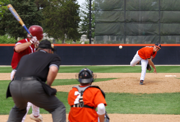 Nagel photography illini baseball a view from behind home plate