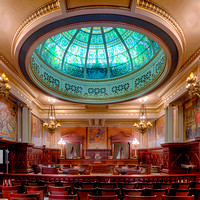 Pennsylvania State Supreme Court chamber